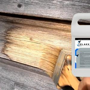 Очистка и защита древесины
